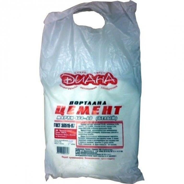 Цемент М-600 белый 50 кг
