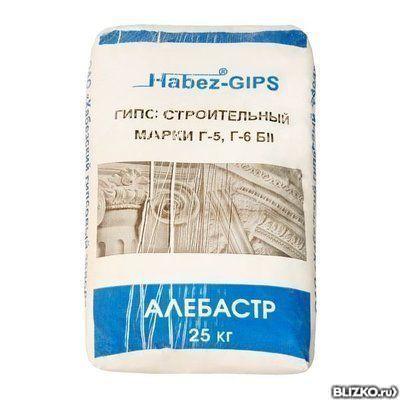 Гипс HABEZ 25 кг