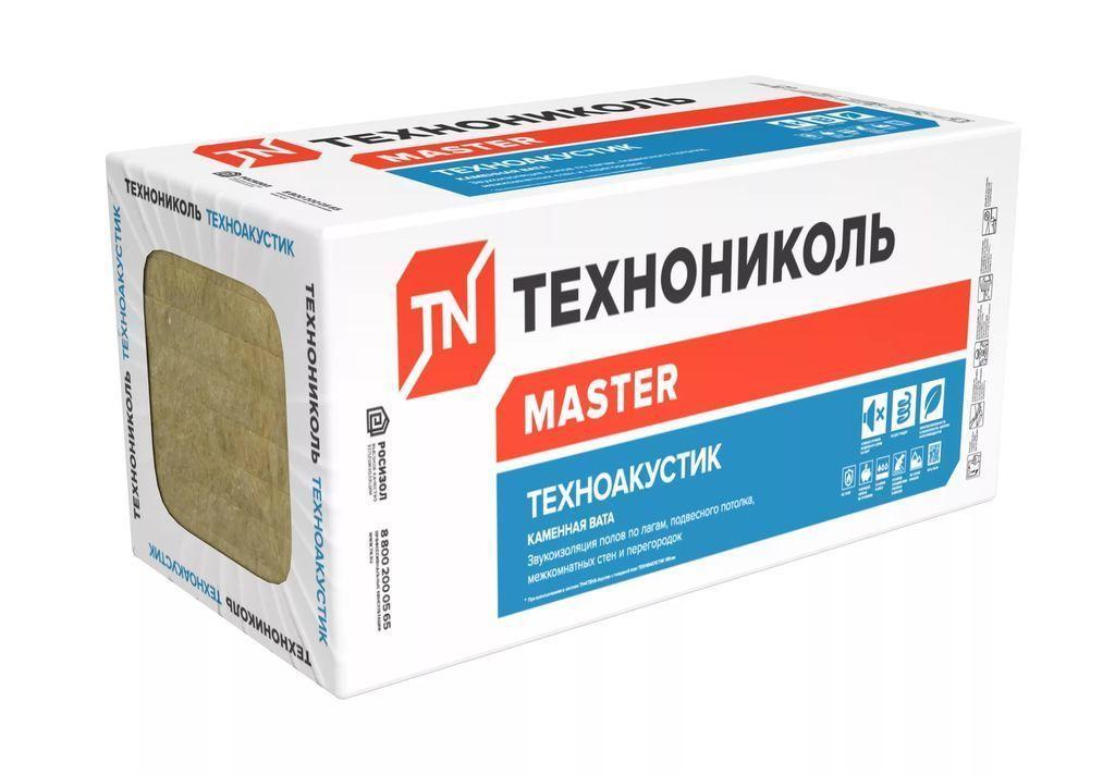 Каменная плита ТЕХНО АКУСТИК 1200х600х50 (5,76м2) 0,288м3/уп
