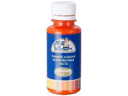 Колер №6 оранжевый Эксперт 100мл