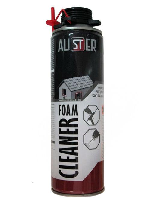Очиститель монтаной пены AUSTER Foam Cleaner 415мл