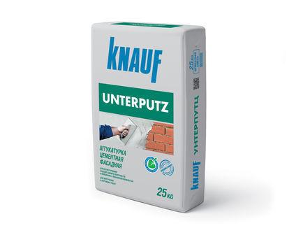 Штукатурка КНАУФ-Унтерпутц цементная фасадная 25 кг