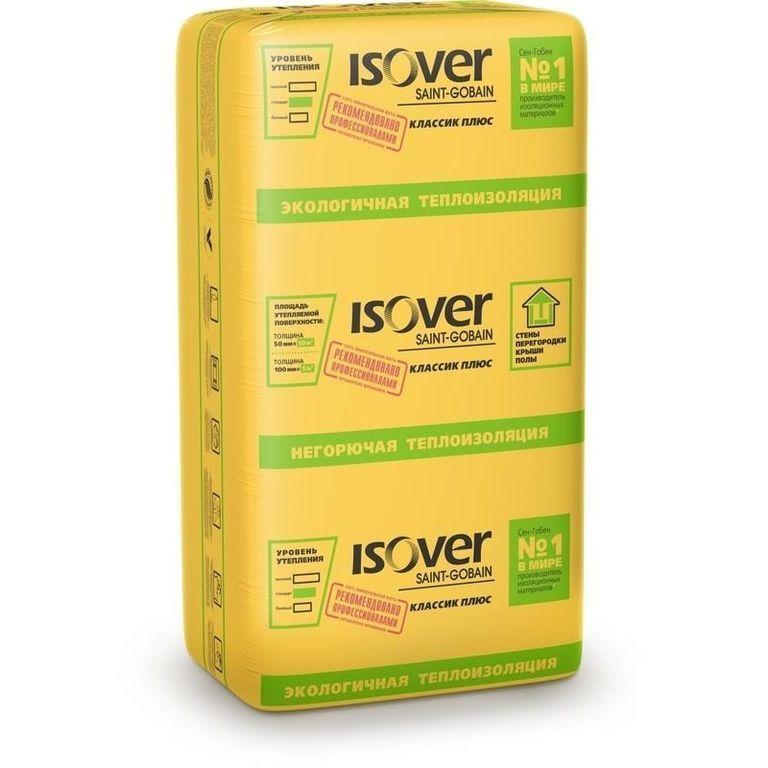 Теплоизоляция Isover Классик Плюс 50х610х1170