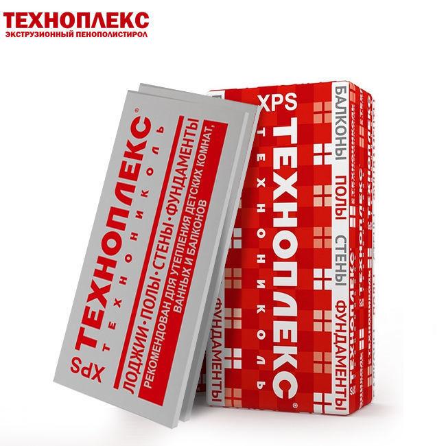 Теплоизоляция Техноплекс 1200х600х20 (14,4м2) (0,288м3)