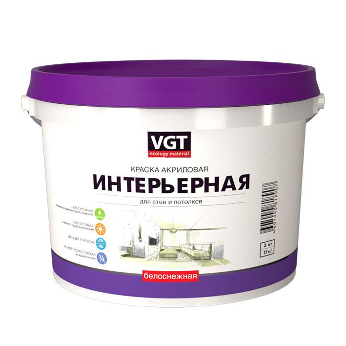 Краска интерьерная  VGT 1,5 кг