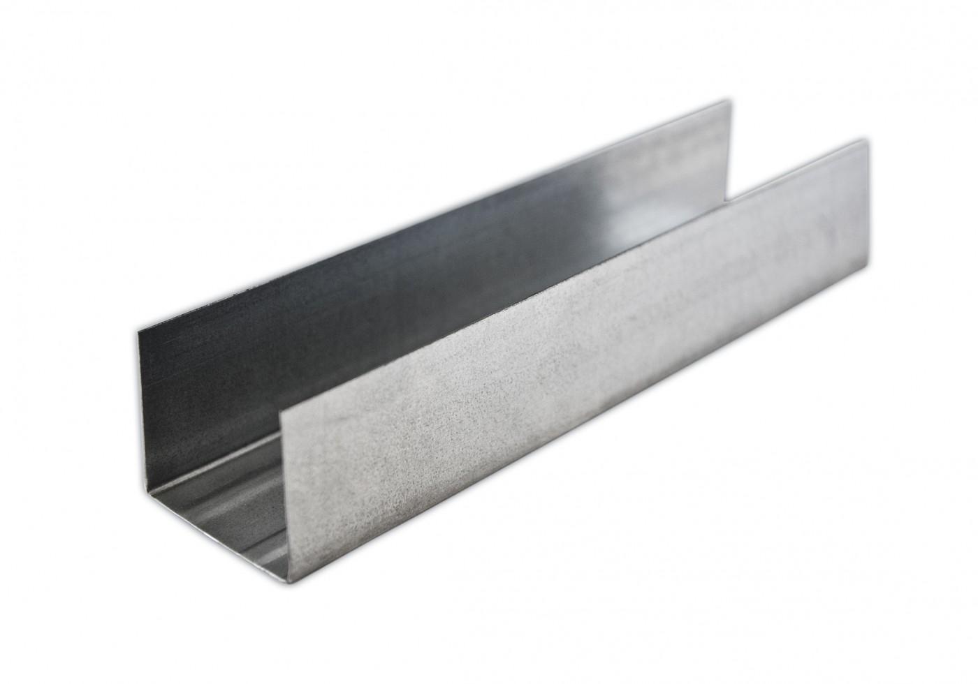 Профиль направляющий 75х40 профи-2 0,5мм