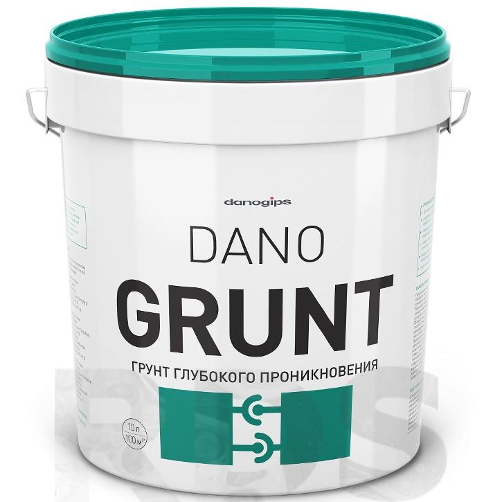 Грунт глубокого проникновения Danogips Dano Grunt