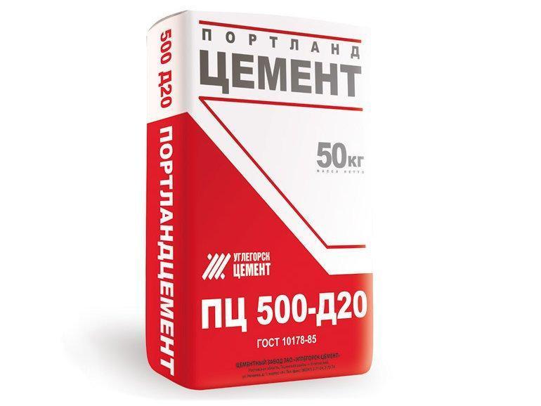 Углегорский цемент М-500